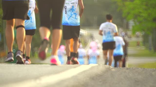 läufer  - gruppe von gegenständen stock-videos und b-roll-filmmaterial