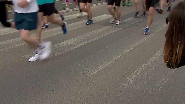 vidéos et rushes de runners - concurrent