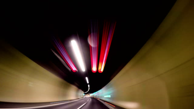 running against time! - tunnel stock videos & royalty-free footage