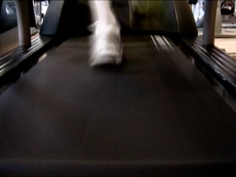 running at the gym - human limb stock videos & royalty-free footage