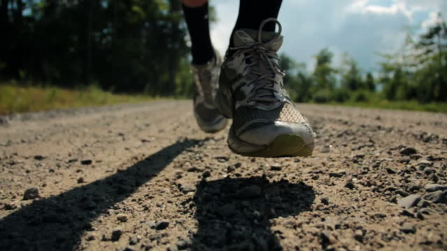 running feet - running stock videos & royalty-free footage