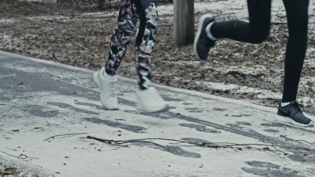 Laufen in kaltem Wetter