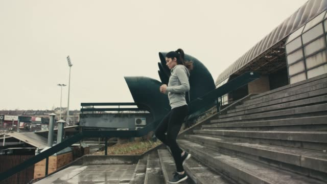 Running in a wet weather