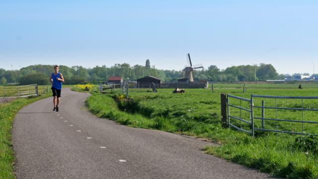 stockvideo's en b-roll-footage met hardlopen in nederland - actieve levenswijze