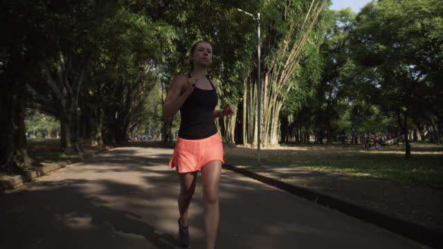 Running in Ibirapuera Park