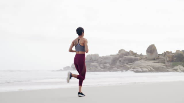 running is both good for your mind and body - self discipline stock videos and b-roll footage