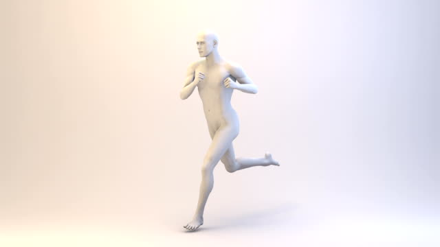 3D Running Man | Loopable