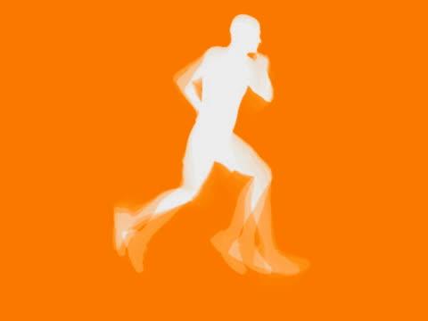 Running Mann Vektor