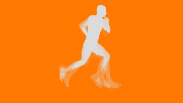 Running Man (Vector Style)