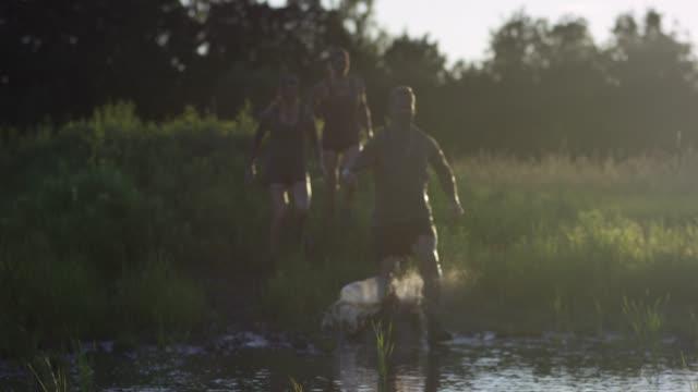 Running Through Muddy Water