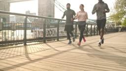 Running toward their goal