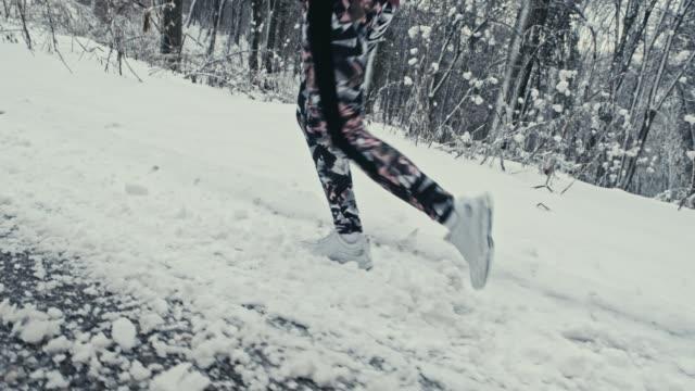 Running den Hügel