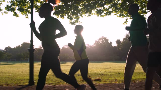 running - wellbeing stock videos & royalty-free footage
