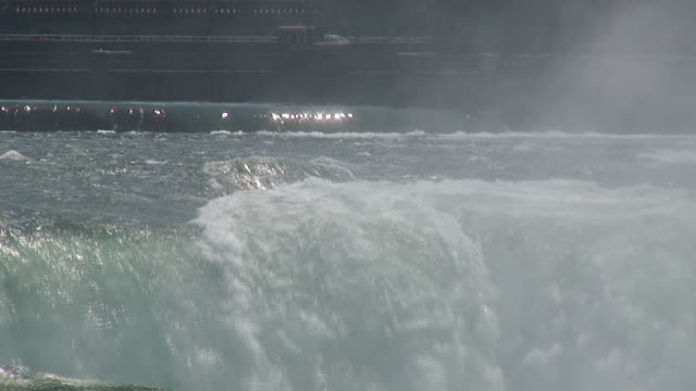 running water 8-53: hd 1080/60i - fluss niagara river stock-videos und b-roll-filmmaterial