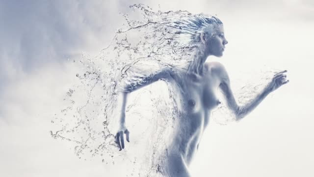 running water women - the human body stock videos & royalty-free footage