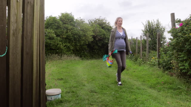running with my wheelbarrow - pregnant stock videos & royalty-free footage