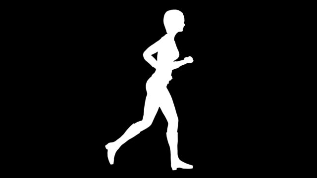Running Woman (Loopable)