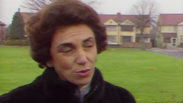 runny eggs safe to eat after eradication of salmonella; as051288006 / 5.12.1988 england: ext edwina currie mp talking about britain's egg production... - salmonella video stock e b–roll