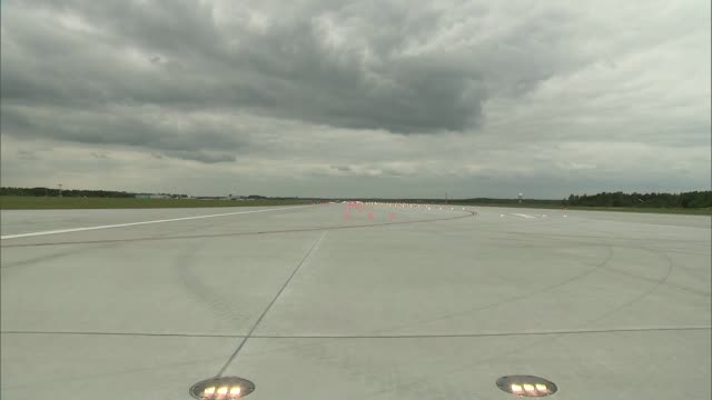 runway at airport - tarmac stock videos & royalty-free footage