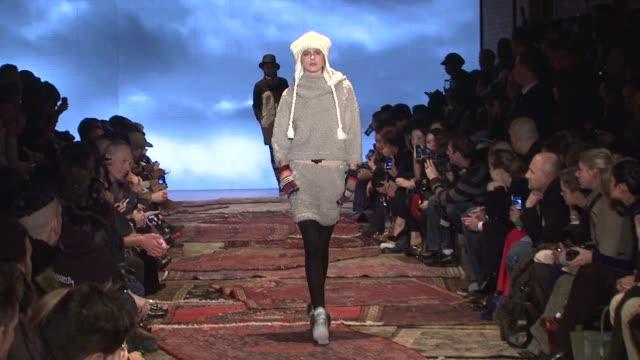 Y3 Runway Fall 2012 MercedesBenz Fashion Week on in New York
