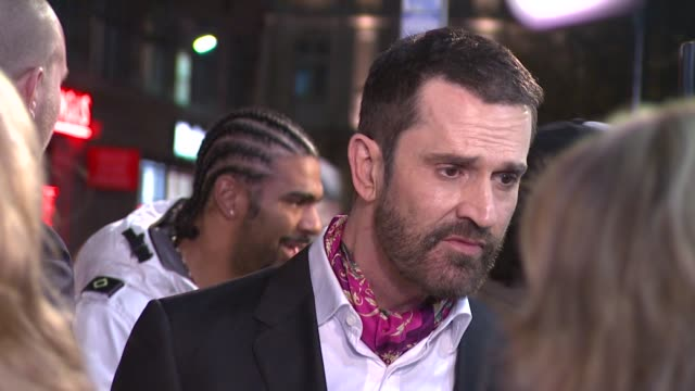 stockvideo's en b-roll-footage met rupert everett at the st trinians 2 world premiere at london england - rupert everett