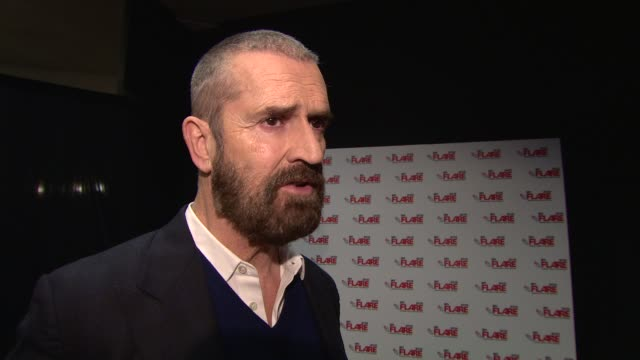 interview rupert everett on being thrilled to have completed the film and being able to show it at flare film festival 'the happy prince' uk premiere... - bfi southbank stock videos & royalty-free footage