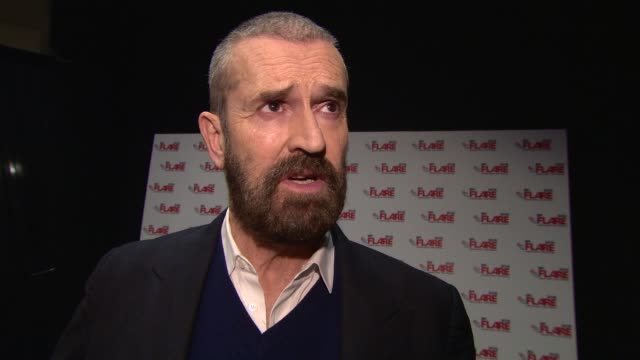 interview rupert everett on the story of 'the happy prince' at 'the happy prince' uk premiere at bfi southbank on march 28 2018 in london england - bfi southbank stock videos & royalty-free footage