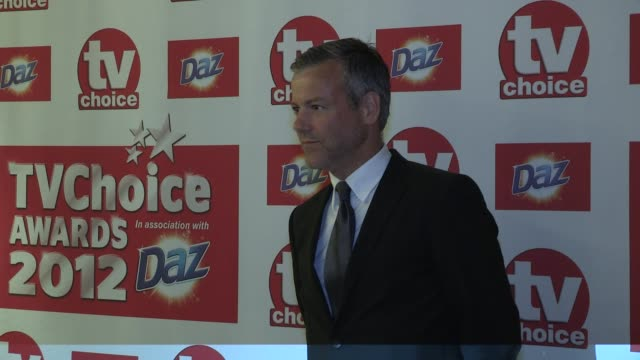 rupert graves at the tv choice awards 2012 rupert graves at the dorchester hotel on september 11, 2012 in london, england - rupert graves stock videos & royalty-free footage