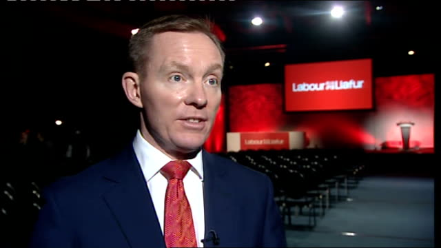 rupert murdoch announces launch of 'the sun on sunday' / reinstates suspended staff wales cardiff int chris bryant mp interview sot launch of 'sun on... - 生後1ヶ月点の映像素材/bロール