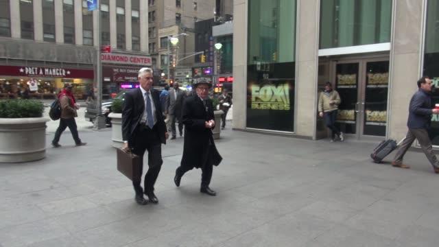 rupert murdoch arrives at news corp on december 09 2015 in new york city - rupert murdoch stock videos and b-roll footage