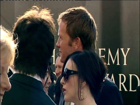 rupert penryjones on red carpet at british academy television awards including london 26 april 2009 - television awards stock videos & royalty-free footage