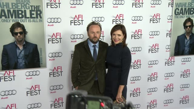 """rupert wyatt at afi fest 2014 presented by audi gala screening of """"the gambler"""" at dolby theatre on november 10, 2014 in hollywood, california. - the dolby theatre stock videos & royalty-free footage"""