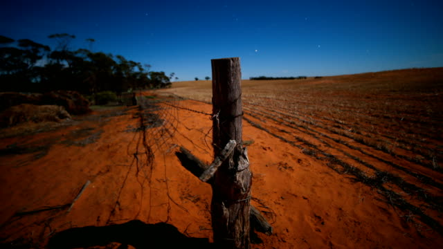 rural australian countryside night time lapse - queensland stock videos & royalty-free footage