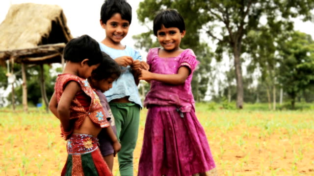 rural children - skirt stock videos & royalty-free footage