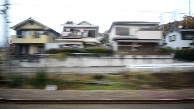 田園街地下鉄駅から - ランベス点の映像素材/bロール
