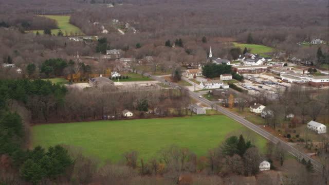 Rural community west of Brooklyn, Connecticut. Shot in November 2011.