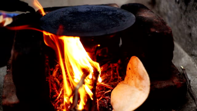 rural kitchen - hearth oven stock videos & royalty-free footage