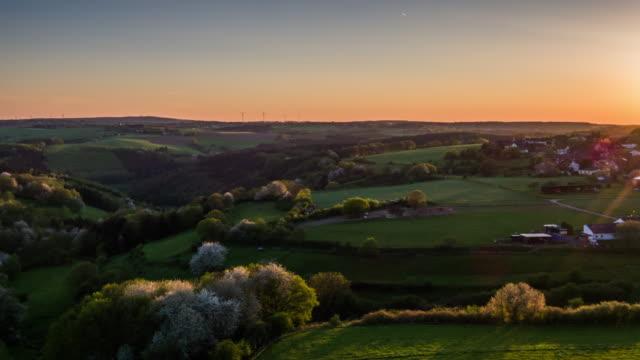 AERIAL: Rural Landscape in Germany