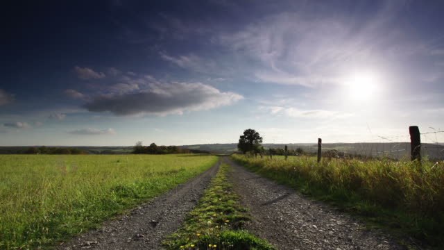 crane up: rural landscape - crane shot stock videos & royalty-free footage