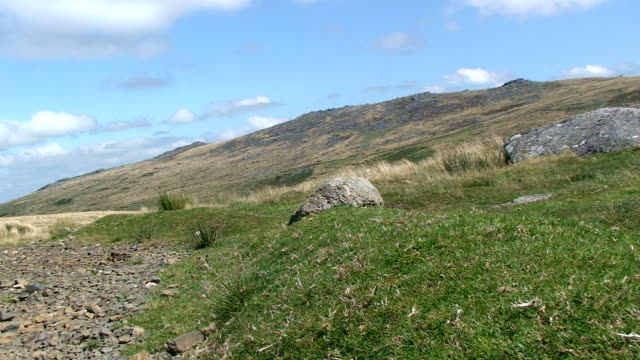 rural moor land - dartmoor stock videos & royalty-free footage