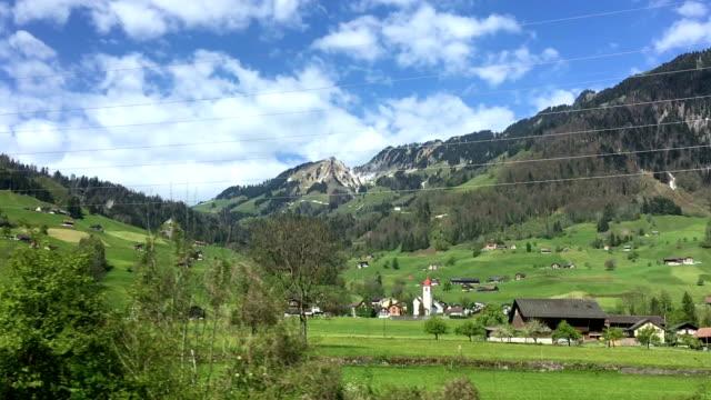 Ländliche Szene in der Schweiz Dallenwill