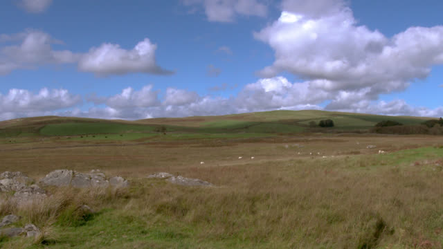 Rural scene of remote Scottish countryside