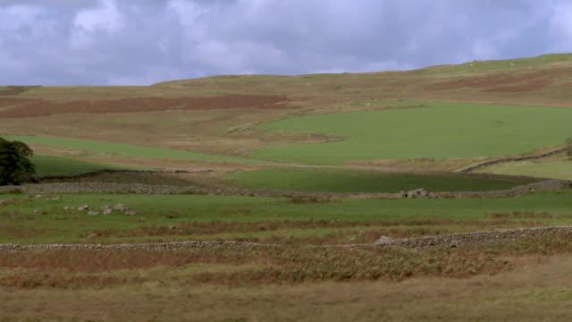 ländliches motiv der abgelegenen schottischen landschaft - johnfscott stock-videos und b-roll-filmmaterial