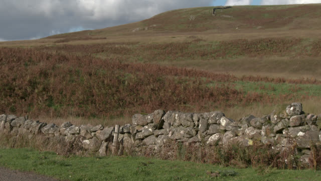 rural scene of remote scottish countryside - johnfscott stock videos & royalty-free footage