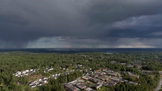 Landsbygdens scen Storm moln