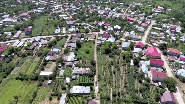 Stad på landsbygden antenn