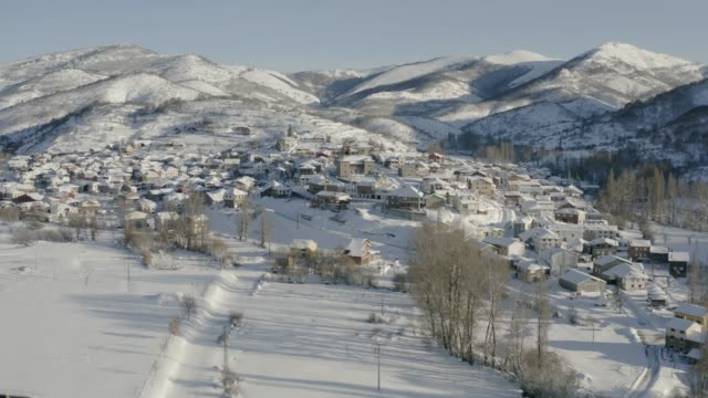 Rural village in northern Spain