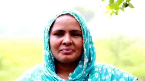 rural women portrait - rural scene stock videos & royalty-free footage