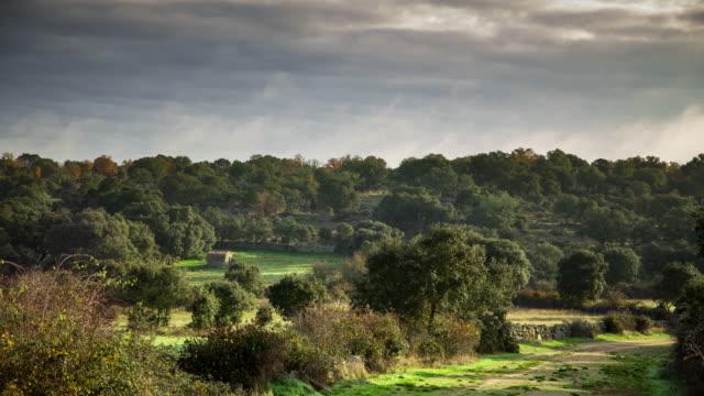 Rural Zamora Province, Spain - Time Lapse