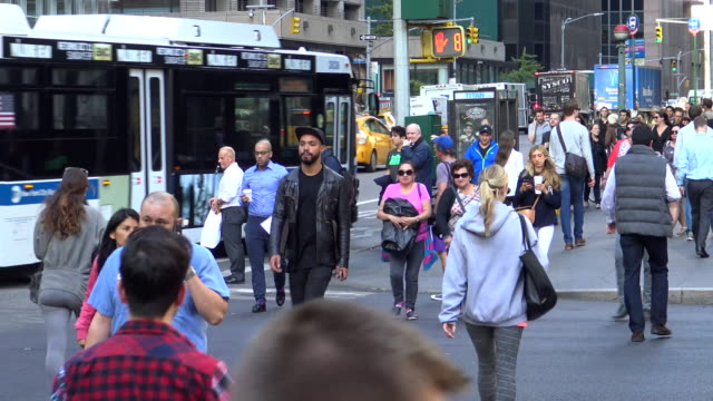 Rush Hour, 6th Ave – 42 ND ST., New York City
